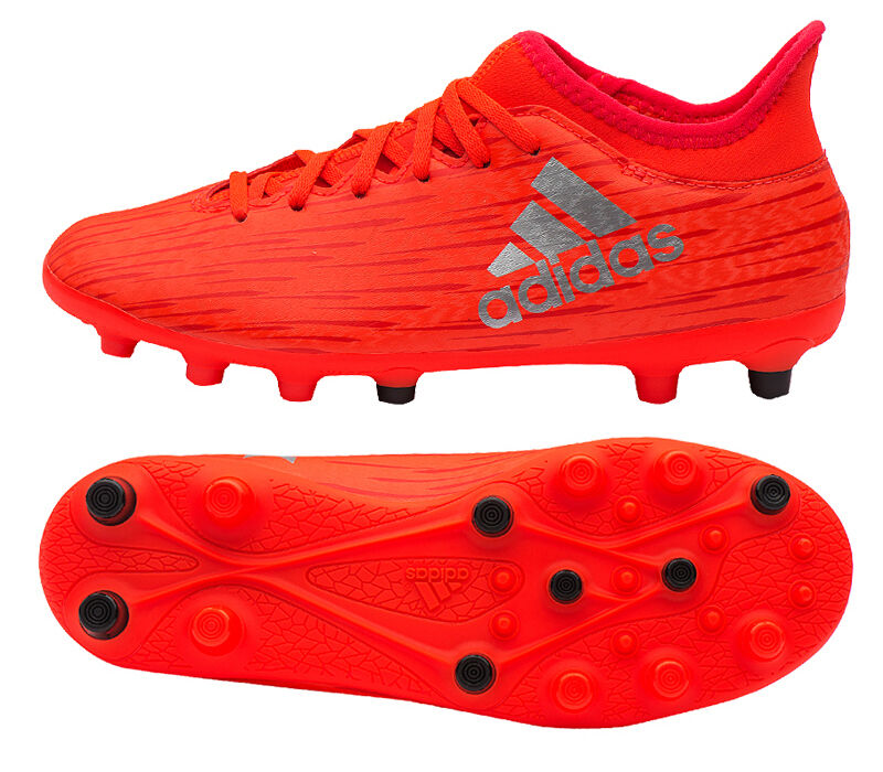 Adidas Junior X 16.3 HG (AQ3651) Hard Ground Cleats Soccer Cleats Football shoes
