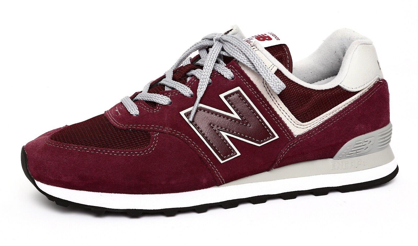 New Balance Men's 574 Classic Burgundy Sneaker Sz 11D 2631