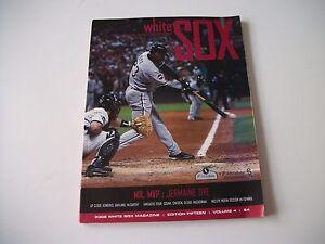 Late-2006-Chicago-White-Sox-Program-Magazine-Ed-14-Vol-4-unmarked-J-Dye-cover