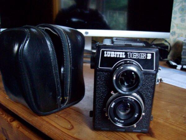 Actif Russe Lubitel 166b Moyen Format Caméra. Excellent. Soyez Amical Lors De L'Utilisation