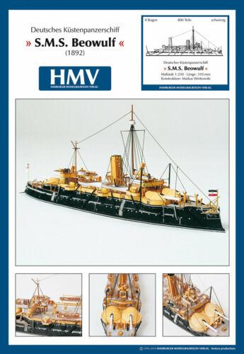 Küstenpanzerschiff SMS Beowulf 1:250 HMV