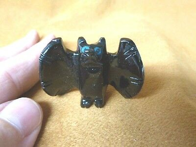 an-bat-10 little BAT flying Pink white BATS carving Pendant NECKLACE FIGURINE