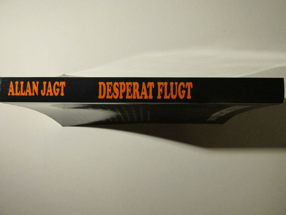 Desperat Flugt, Allan Jagt, genre: krimi og spænding