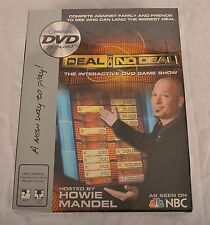 Deal Or No Deal DVD Game Hosted By Howie Mandel DVD TV Game As Seen On NBC