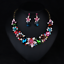 Fashion-Crystal-Pendant-Bib-Choker-Chain-Statement-Necklace-Earrings-Jewelry thumbnail 165