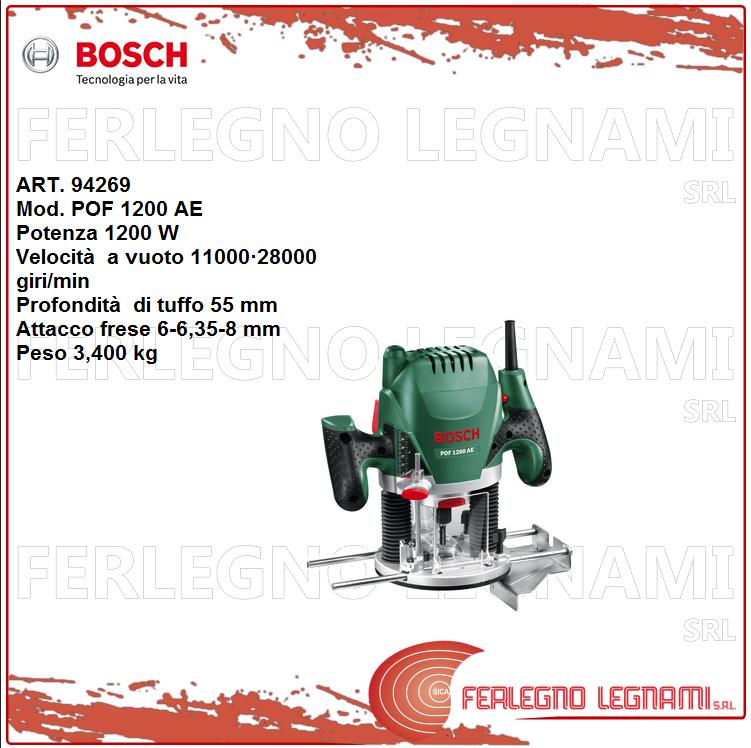 Bosch-V Fräse Pof1200ae 1200w Art. 94269