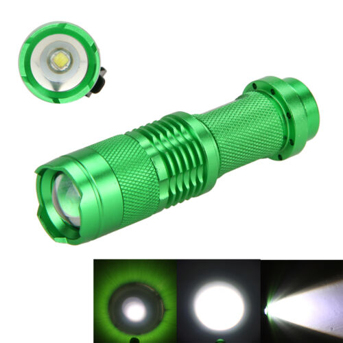 Ultrafire 1200lm Q5 LED 7W Mini Flashlight Torch Lamp 14500 Zoomable 5 Colors
