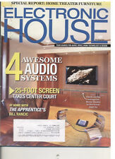 Electronic House - Your Source For Audio, Video, Home Tech & Design Mar/Apr 2011