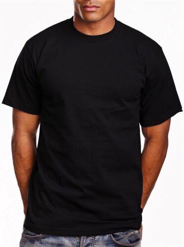 NEW MEN PRO5 PLAIN T SHIRTS PRO 5 T SHIRTS BLACK $4.99