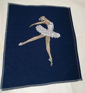 Chic Ballerina Blue Crystal Ballet Dancer Girl Pendant Sweater Chain Necklace LH