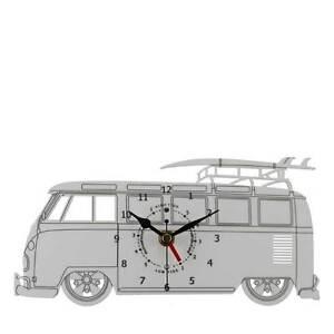 VW-Splitscreen-Bay-Window-Camper-Van-Time-Tide-Acrylic-Clock-WC-WH-VWCT04