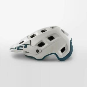 Blue Green MET Terranova MTB Bicycle Safety Helmet Small 52//52cm