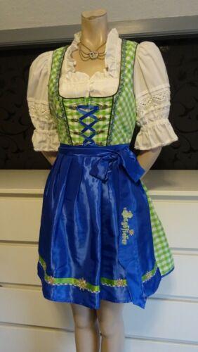 Authentic Dirndl German Austrian  Dress Blouse Apr