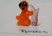 Sly Sloth Orange Tynies Tiny Glass Figure Figurine Collectibles 0101