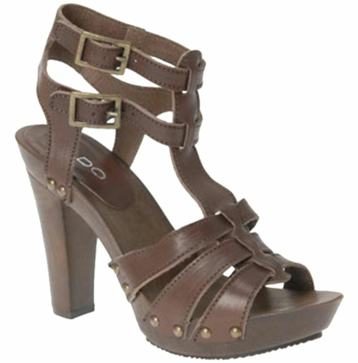 ALDO Vianen Brown Gladiator Sandals Size  37
