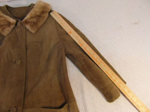 Fur 33107 skræddersyede Trench Silk kvinder 16 Coat Lined Kvinders Suede Collar AqRxwvOtO