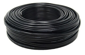 14-Gauge-100-Feet-Black-Stranded-2-Conductor-Copper-Clad-Speaker-Wire-Car-Audio
