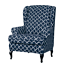 INSMA-Stretch-Wing-Chair-Cover-Slipcover-Wingback-Armchair-Furniture-D miniature 11