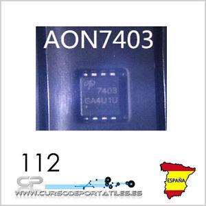 2 Unidades Aon7403 Ao7403 7403 Mosfet 100% Nuevo E08bf9lj-07213834-588201282