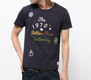Paul-Smith-034-1970s-Better-than-Yesterday-034-T-Shirt-Crew-Neck-Med-Large-amp-XL