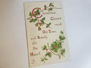 Greeting-Postcard-Vintage-Christmas-Old-Times