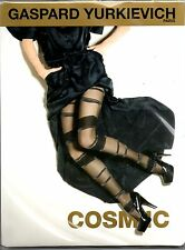 NEUF COLLANT GASPARD YURKIEVICH by GERBE COSMIC NOIR / ARGENT TAILLE 3 TIGHTS