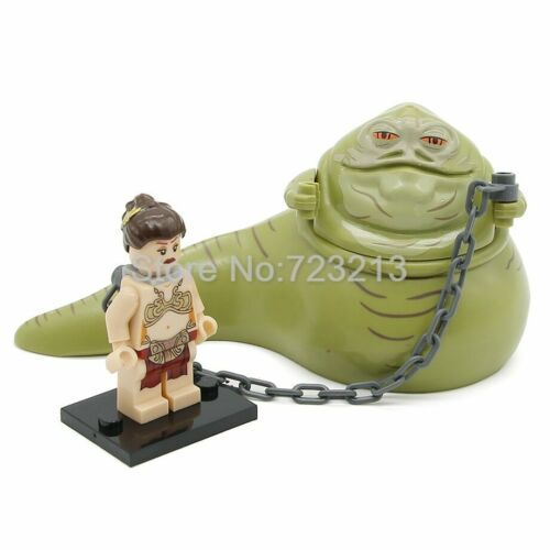 Hot Sale LEGO Star Wars Figure Single Sale Princess Leia With Chain Boba Fett