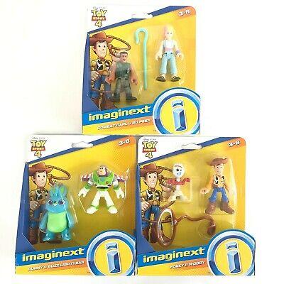 per Bambini da 3+ Anni GFD13 Pixar Toy Story 4 Imaginext Bo Peep e Combat Carl Mini Personaggi