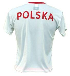 76f9b1024 Image is loading Great-Football-T-shirt-Poland-Team-2019-Koszulka-