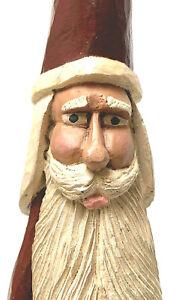 Folk-Art-Resin-Santa-Claus-With-Bag