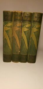 1923 DAWSON'S BIRDS OF CALIFORNIA 4 VOLS COLOR BIRD PLATES 'BOOKLOVER'S' ED.