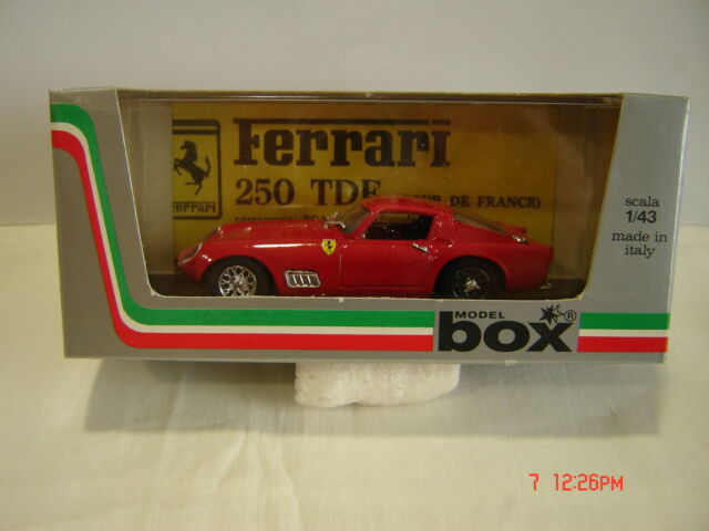 Ferrari 250 TDF scale 1:43  in box new