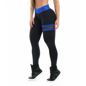 Leggins Deportivas Ropa Deportiva De Moda Pantalones Para Yoga Mujer Damas Malla Ebay