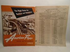 American Flyer No. D 1704 Original 1953 Dealer Catalog All 36 Pages S Gauge