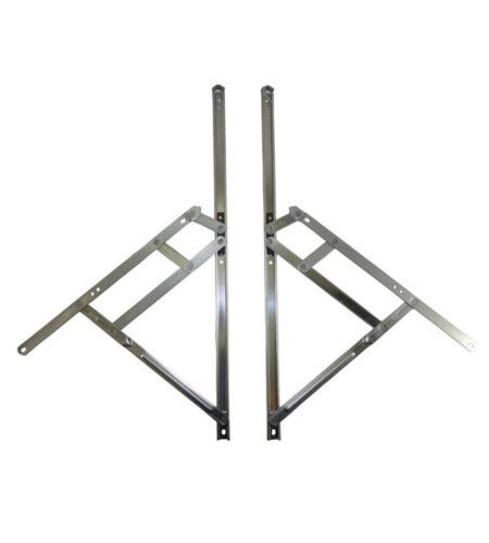 paire Nico 500 mm TOP Hung friction Charnière 13 mm hauteur de la cheminée