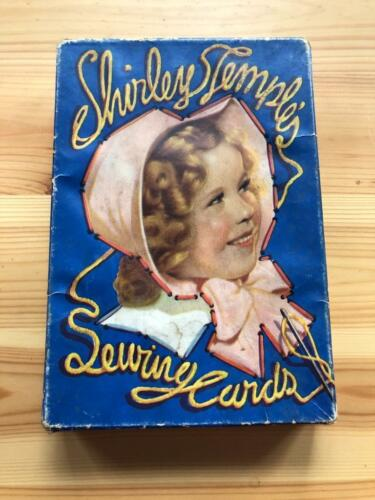 1936 Shirley Temple Sewing Cards Used
