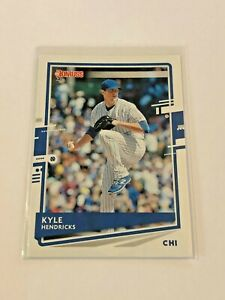 2020-Donruss-Baseball-Base-Card-Kyle-Hendricks-Chicago-Cubs