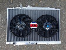 "ALUMINUM RADIATOR FOR 2004-2008 ACURA TL 3.2L V6  J32A3+ 2X10"" FANS 05 06 2007"