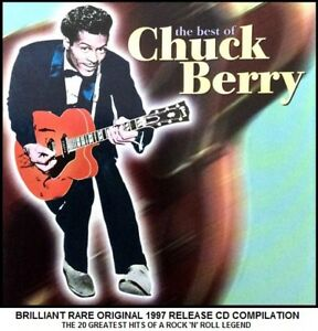 Chuck Berry  20 Greatest Hits Collection Best Of  RARE 50039s Rock amp Roll CD - Birmingham, United Kingdom - Chuck Berry  20 Greatest Hits Collection Best Of  RARE 50039s Rock amp Roll CD - Birmingham, United Kingdom
