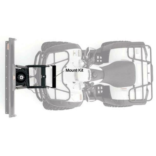 WARN 65400 ATV Center Mount Plow Kit