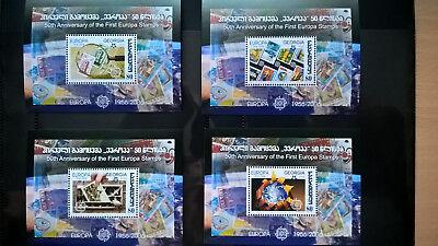 Briefmarken Georgien 2006 Blocksatz 50 Cept Stamp On Stamp Mnh Vertrieb Von QualitäTssicherung