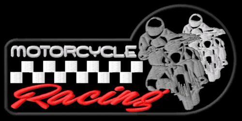 MOTOCICLISMO ferro da stiro sulla patch Aufnäher PARCHE Brodé PATCH TOPPA Corse Rally