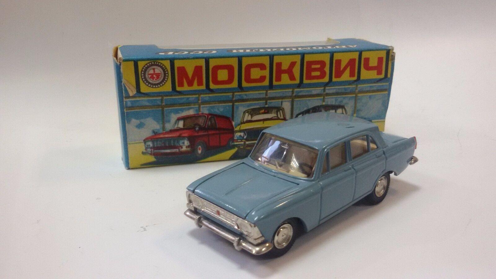 protección post-venta Vintage Antiguo Antiguo Antiguo SOVIET URSS Coche de Juguete Moskvitch 408 71 A1 + Caja  80% de descuento