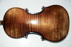 Ausdauernd 4/4 Geige Violin Von Max Sandner Erlangen Guter Zustand