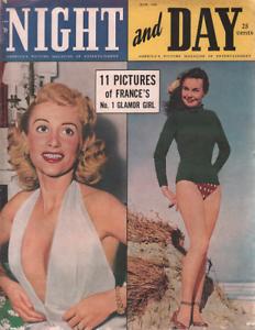Notte E Giorno Giugno 1950 Mary Collins Martine Carol 041420DBE2