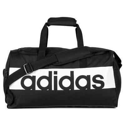 d95ed88699c Adidas Small Linear Team Bag - Black White