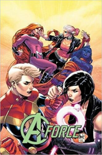 1 of 1 - A-Force Vol. 2: Rage Against the Dying of the Light, Kelly Thompson, Ben Caldwel