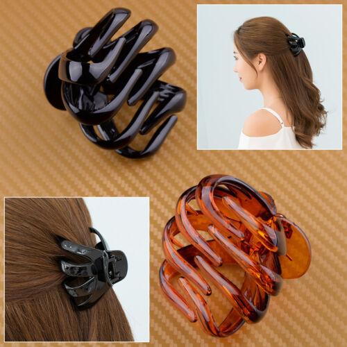 2 X Kunststoff Haarklammer Badewanne Haarspange Haar Klaue Haarclip Hair Claw