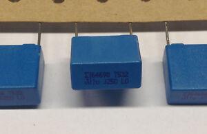 10-Stueck-Kondensatoren-1-F-250V-S-M-M0560