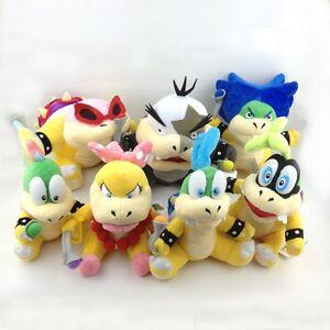 7X-Super-Mario-Koopalings-Larry-Iggy-Lemmy-Roy-Ludwig-Wendy-Morton-Koopa-Plush